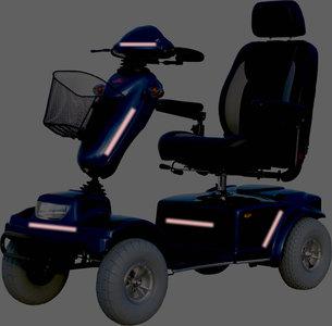 Free to move Scootmobiel - rolstoel Reflectie tape